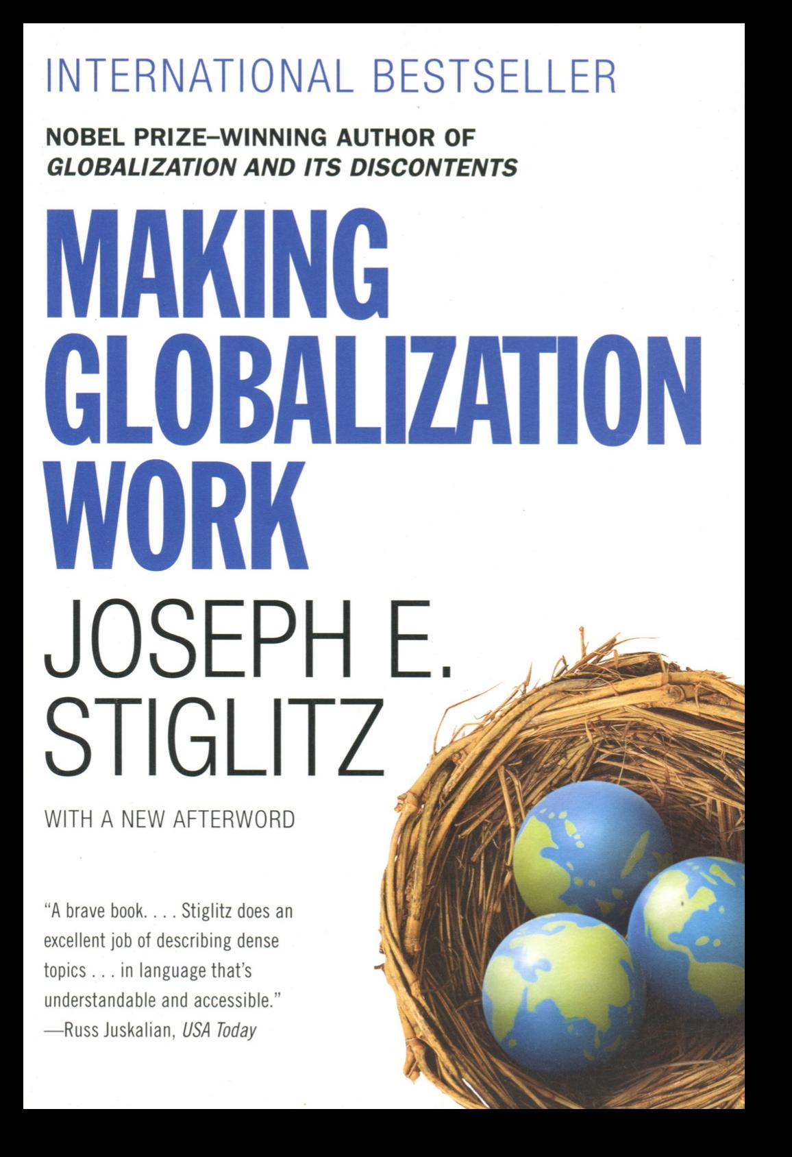 Making Globalization Work - CU Global ThoughtCU Global Thought