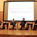 Discussing memory in a global perspective (April 18, 2015)