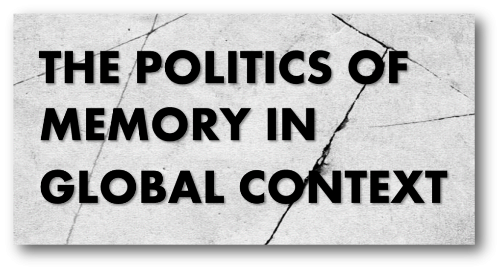 Politics of Memory in Global Context banner