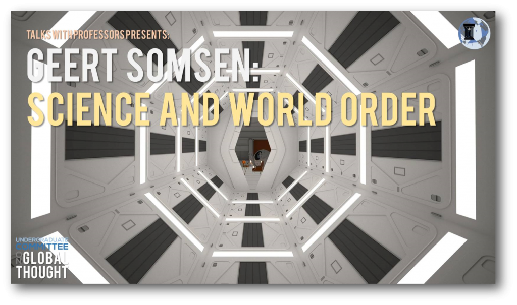Geert Somsen - Science and World Order