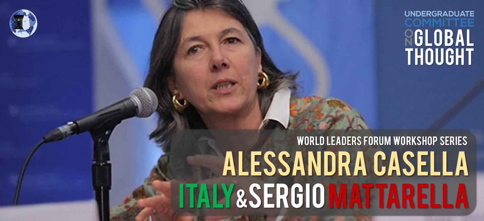 UCGT Workshop with Alessandra Casella - CU Global Thought