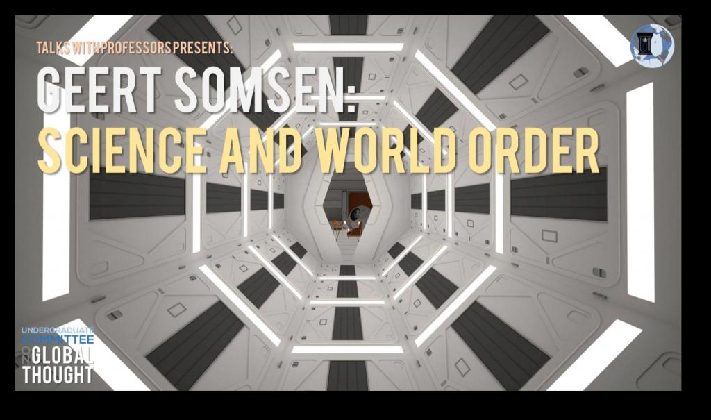 Geert Somsen - Science and World Order