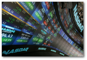 Stock market with shadow