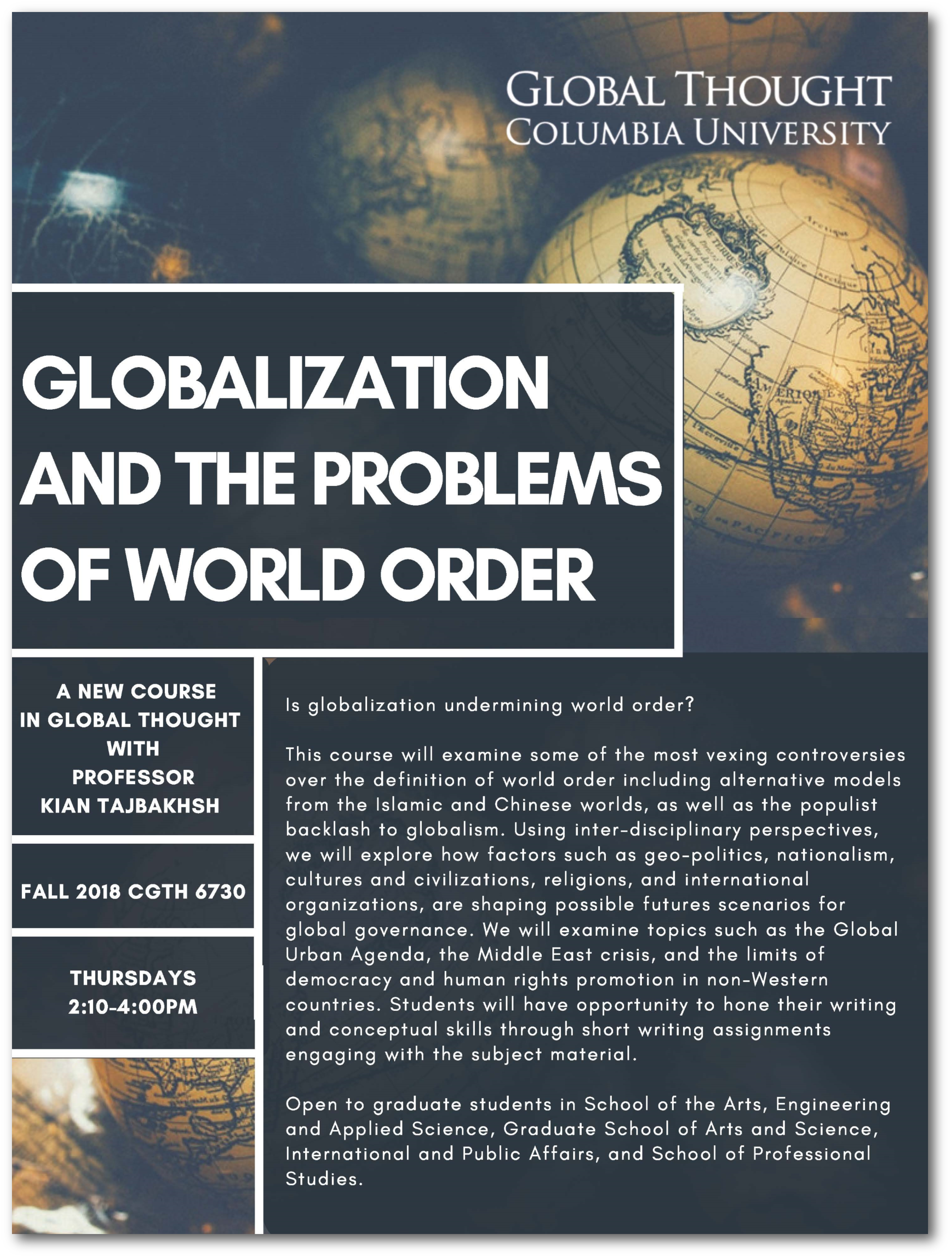 globalization definition for students