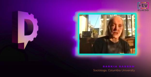 """Saskia Sassen: """"Hablar de nueva normalidad es reconocer que algo no funcionó"""""""