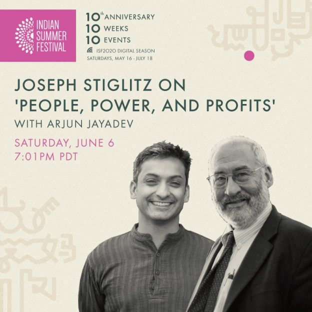 ISF2020: Joseph Stiglitz on 'People, Power, and Profits' with Arjun Jayadev
