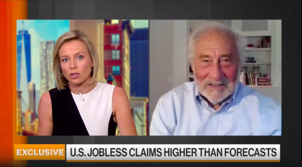 Stiglitz Says Small Businesses Need Special Attention