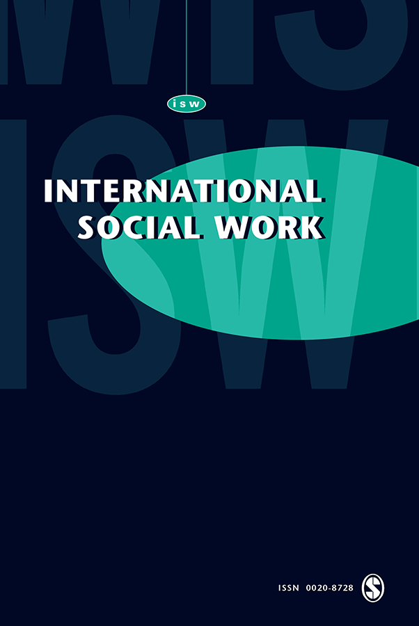 Creating solace and hope during COVID-19: An innovative Internet-based social work intervention